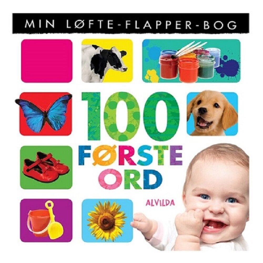 Alvilda Min løfte-flapper-bog - 100 første ord - Børnebøger - Alvilda
