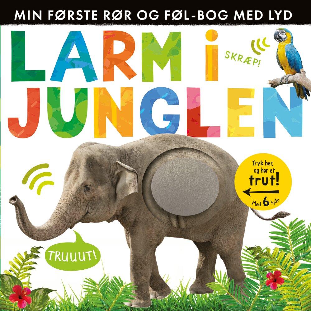 Alvilda Larm i junglen - Børnebøger - Alvilda