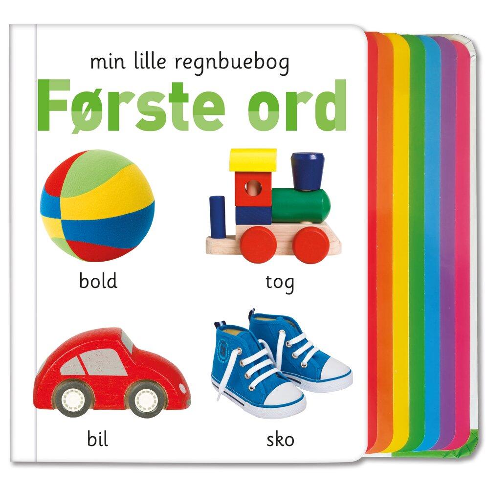 Alvilda Min lille regnbuebog - Første ord - Børnebøger - Alvilda