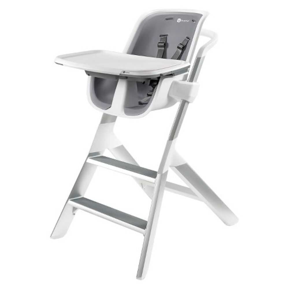 Image of 4Moms High Chair 2.1 - White/Grey (12fcf442-bdcb-4383-8317-e5a51ae4974c)