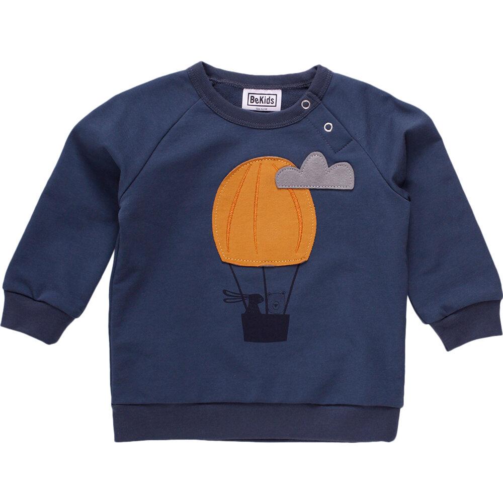Image of BeKids Air balloon sweatshirt - 019411006 (1673bee5-8030-43d8-8a92-b8c5ce9b689a)