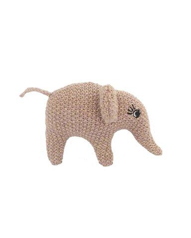 Håndrangle Elefant, Pudder/Guld