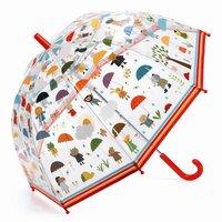 Djeco Paraply, I regnvejr