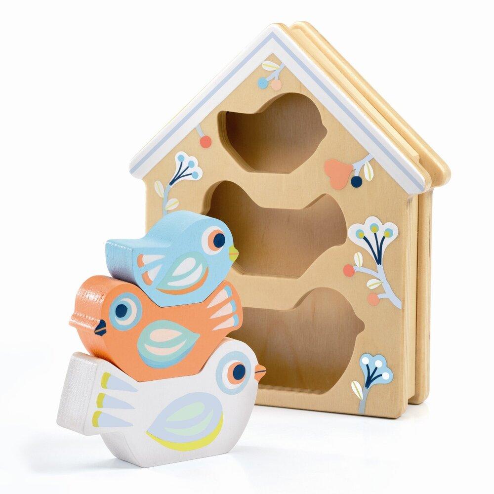 Djeco BabyBirdi puttekasse