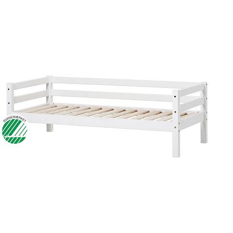 Basic Juniorseng - 70 x 160 Cm - Hvid