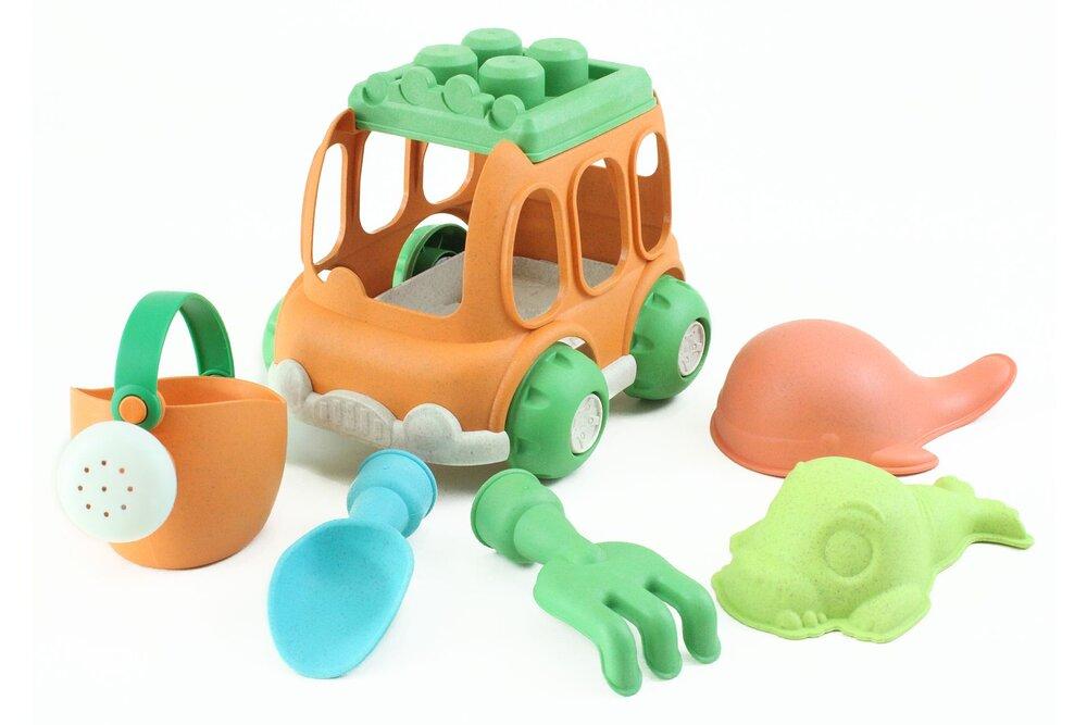 Image of Magni Strandsæt - Bioplast, bil, 6 dele (71bf8371-0320-4574-a573-8a82d21530b0)