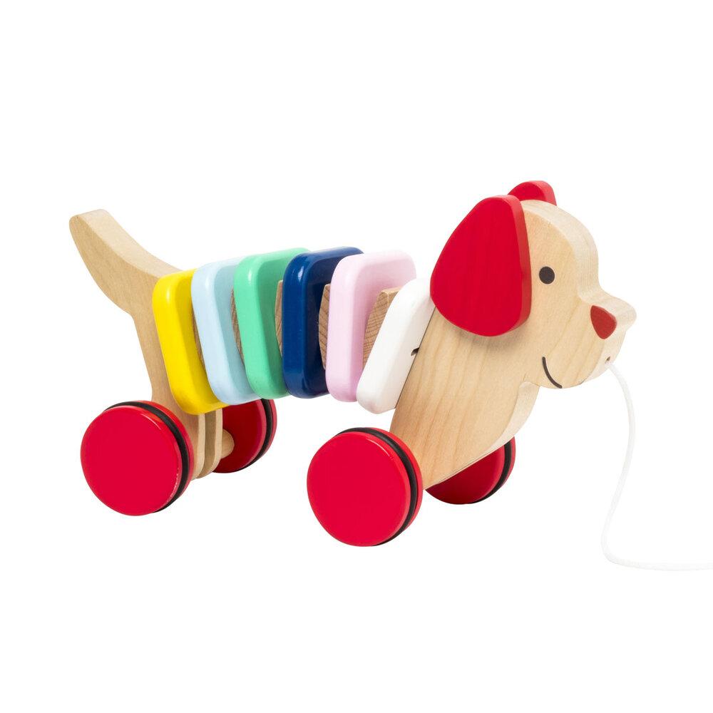 Oxybul Trækhund - Trælegetøj - Oxybul