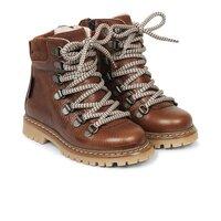 TEX-støvle med lynlås og snøre - 1055
