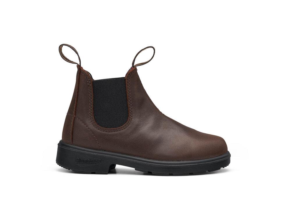 Image of BLUNDSTONE Blunnies kort støvle - BROWN (6523e815-e4d3-4fd8-87a0-d0d5fde1a362)