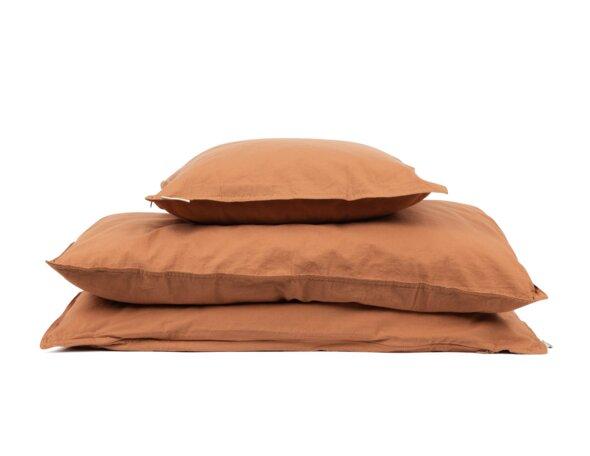 Voksen sengesæt - caramel