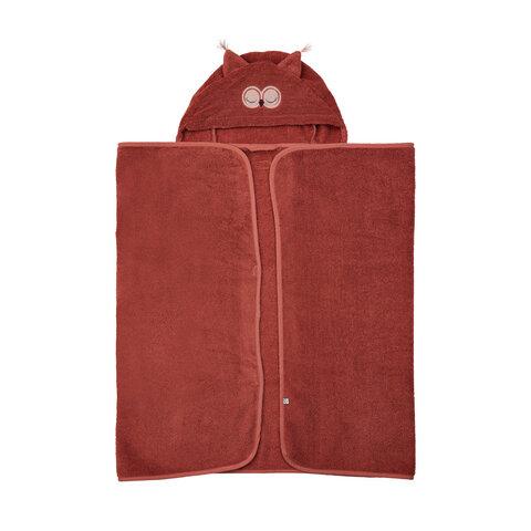 Øko. badehåndklæde m. hætte - 426