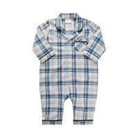 Pyjamas sæt Y/D Check - 7922