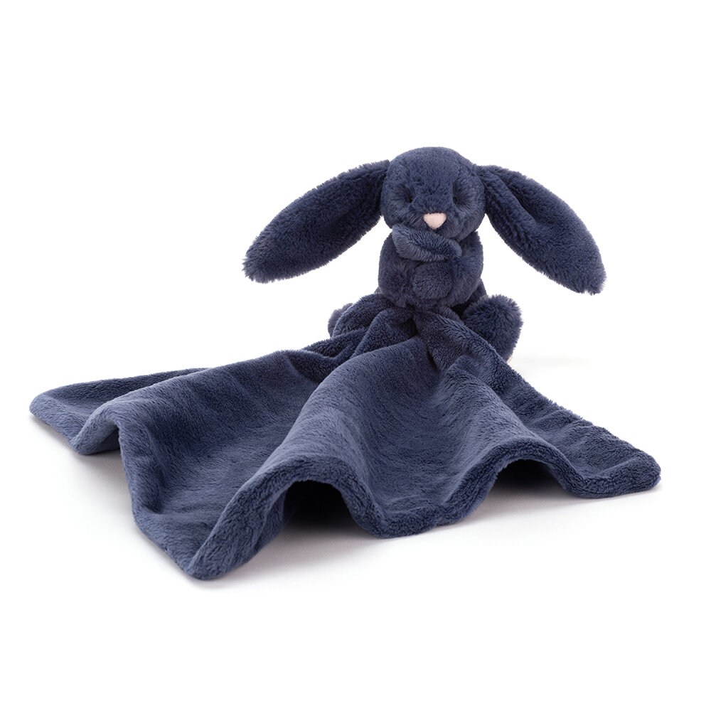 Image of JellyCat Bashful Kanin, Navy Nusseklud (89e259fa-9a4f-40fc-8463-1c9aea80d214)