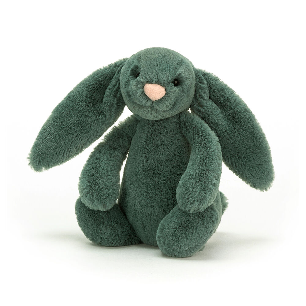Image of JellyCat Bashful Kanin, Forest Lille 18 cm (7c72080b-307a-4327-98fa-57e3b85c3862)