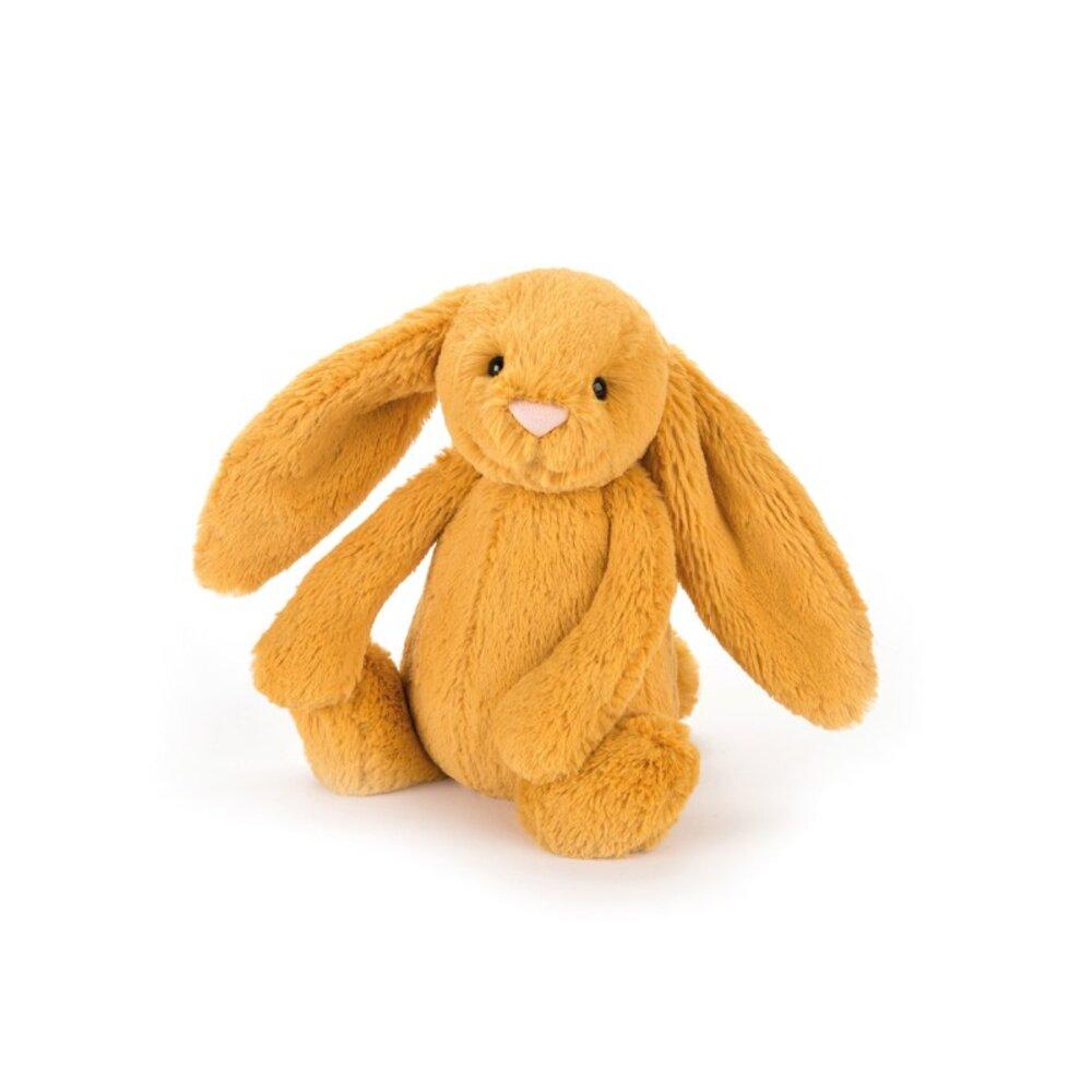 JellyCat Bashful Kanin Saffron Lille 18 cm