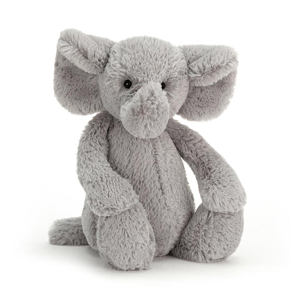 Image of JellyCat Bashful Elefant, Mellem 31 Cm (287d833f-7100-4e2f-894c-bb80179dd677)