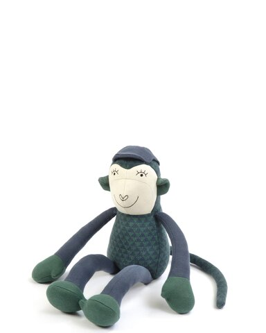 Abe blå grøn