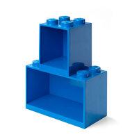 Opbevarings hylde-sæt 4 og 8 knop blå