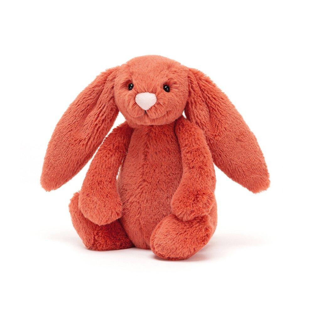 JellyCat Bashful kanin, Cinnamon mellem 31 cm