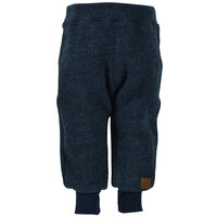 Uld bukser - Anthracite Melange