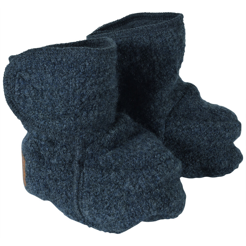 Image of Mikk-Line Uld Footies - Anthracite Melange (3a6dcbca-73d4-4f50-a76e-216c86ff912c)