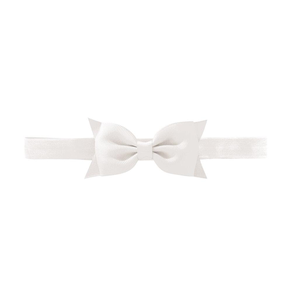 Image of Hvid Medium Milledeux® Butterfly Hårsløjfe – Elastisk Hårbånd - 29 (ffd03329-8f1b-4d8b-946a-c254c18aaa2f)