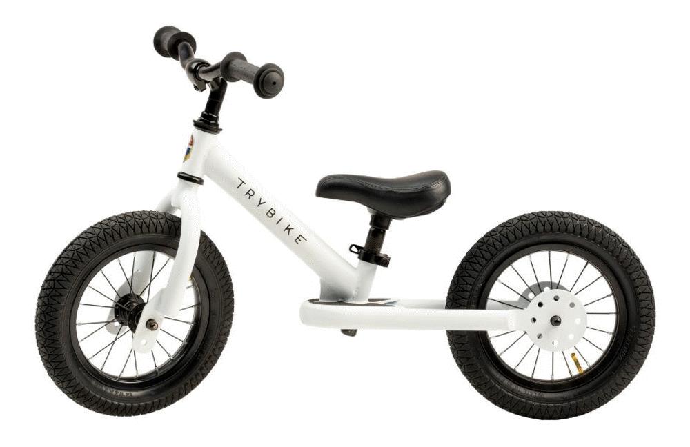Image of Trybike 2-hjul, hvid (154e7d71-cf79-469f-ab65-dc65628a9ae0)