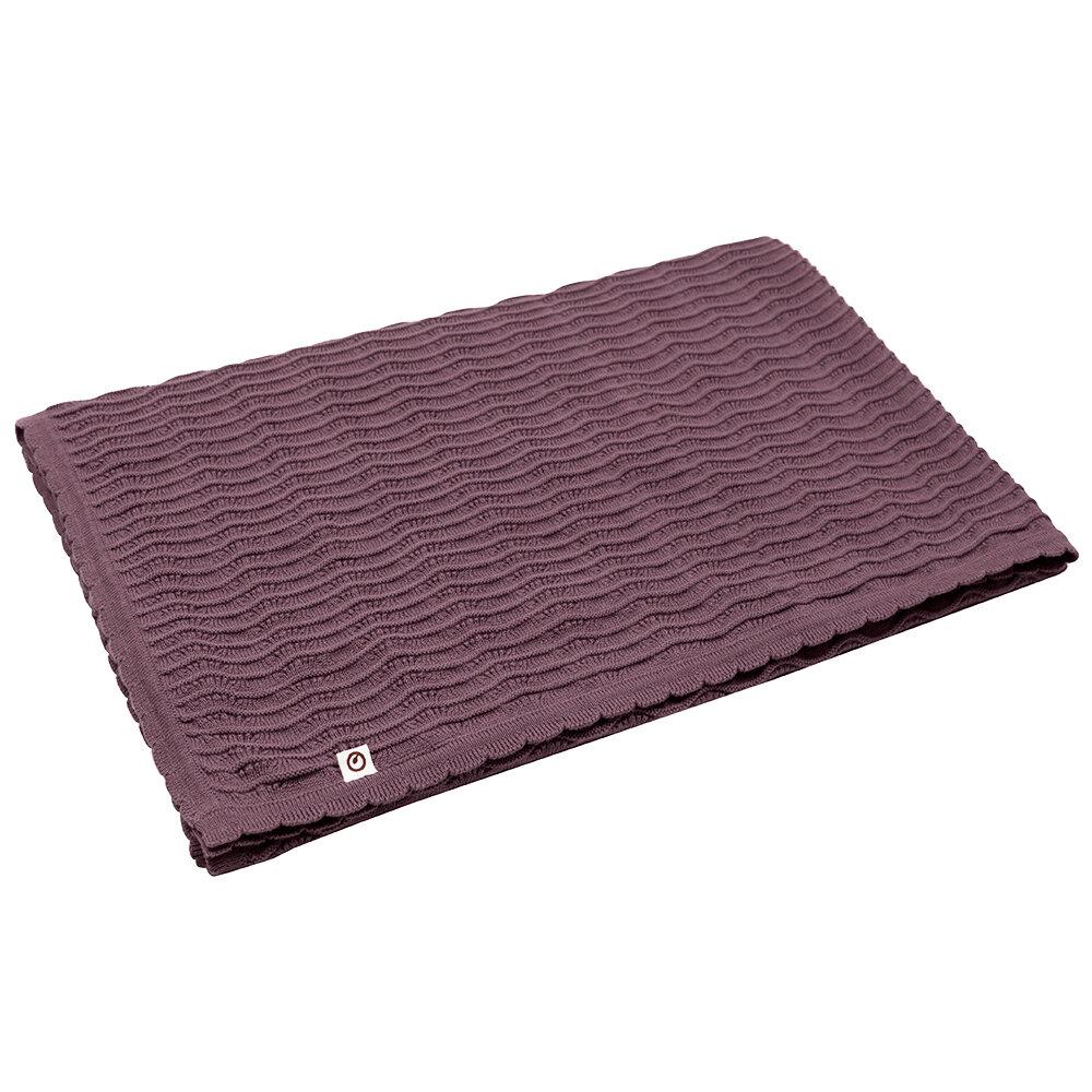 Müsli Knit tæppe flint