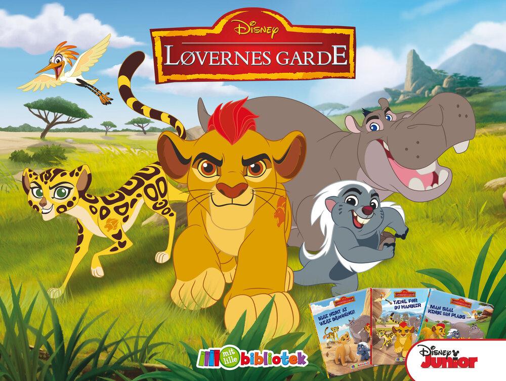 Image of Karrusel Mit Lille Bibliotek, Disney Junior Løvernes Garde (3a0cd6c9-54c9-4799-a6f0-50a0afa7a203)