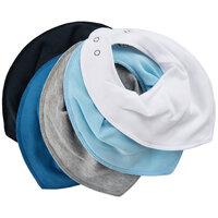 Tørklædesmæk - Ensfarvet 5-Pak - 710