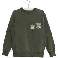 Sweatshirt Terry Badges - 4065