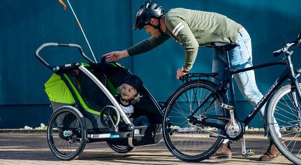 Cykeltur med dit barn