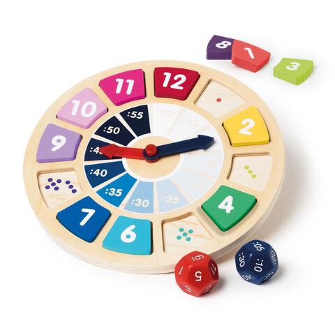Lær klokken med leg