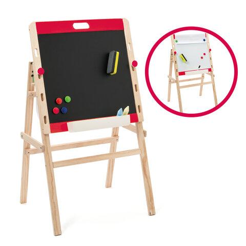 Juster- og foldbar tavle