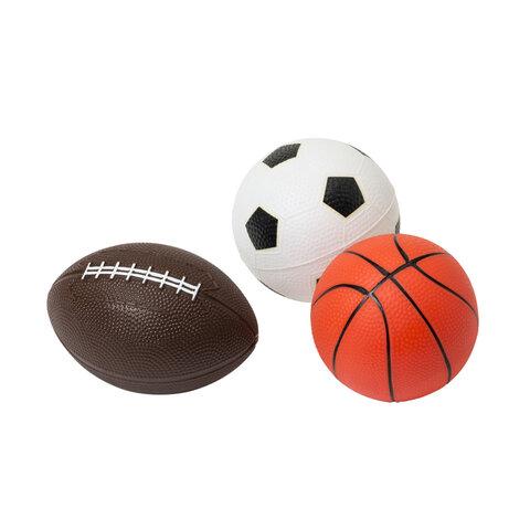 3 Bolde,  Basket, Rugby, Fodbold