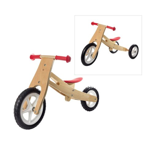 Trehjulet2-i-1Træcykel
