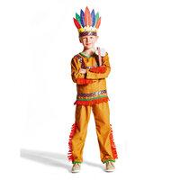 Indianer Kostume, 3-5 År