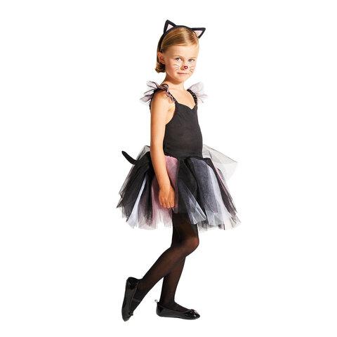 Kattekjole Med Kattehårbøjle, 3-5 År