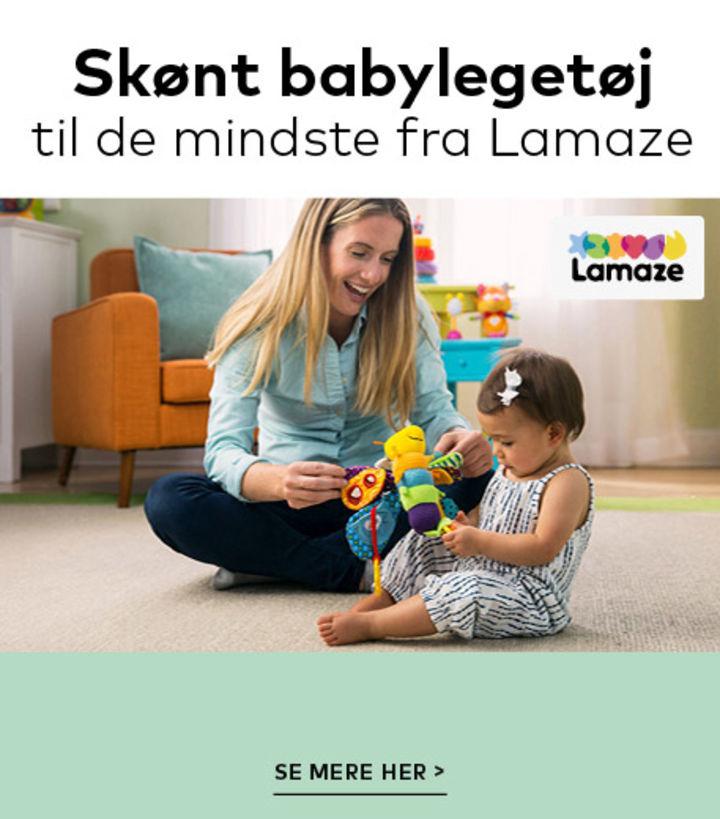 Lamaze legetøj hos BabySam