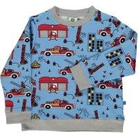 Sweatshirt med brandbil - 702