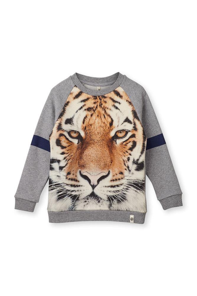 Image of Popupshop Basis Sweatshirt - Tiger (c35bd6bb-eb9b-44f2-9cc4-d40cdbd4b364)