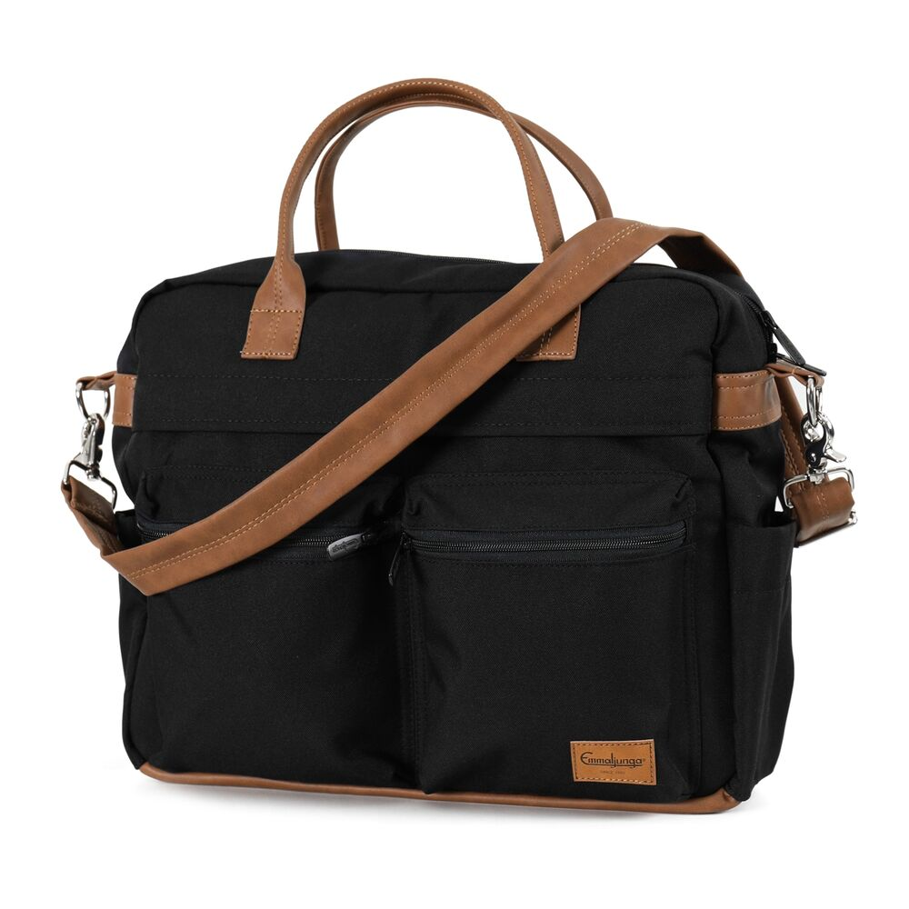 Image of Emmaljunga Pusletaske travel outdoor black (30473452-669e-4a9a-bc92-ab80b1304b46)