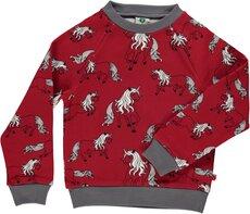 Sweatshirt med enhjørning - 520
