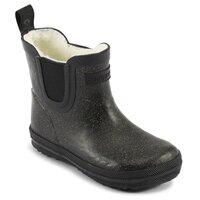 Warm glitter rubber boot lav - 959