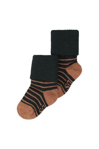 Baby dreng sokker - JET BLACK