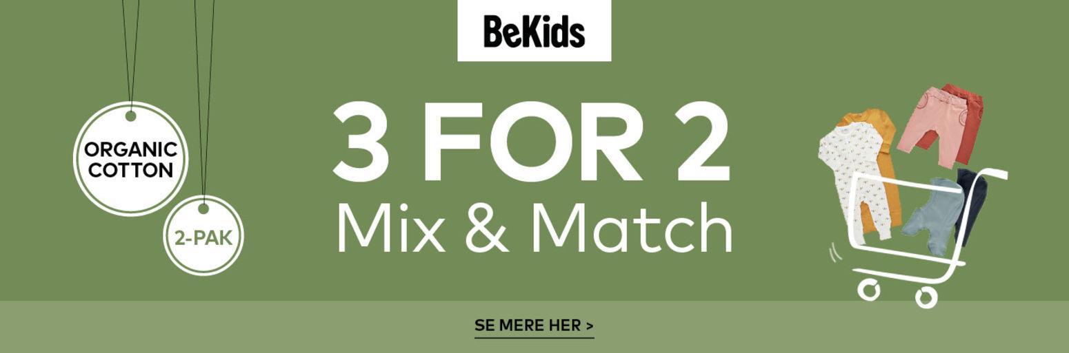 Bekids 3 for 2
