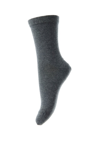 Ankel strømpe - Grå/497