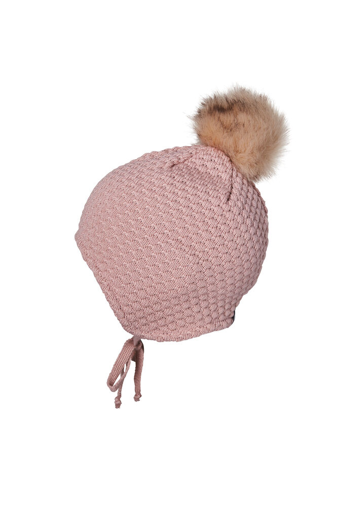 Image of MP Denmark CHUNKY OSLO Baby hat m. fake f - 4256 (2600d91d-6534-4155-82eb-1474559fd3e5)