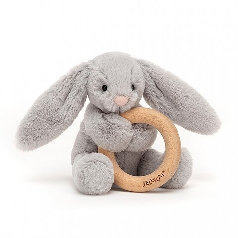 Bashful kanin Silver, m/træring