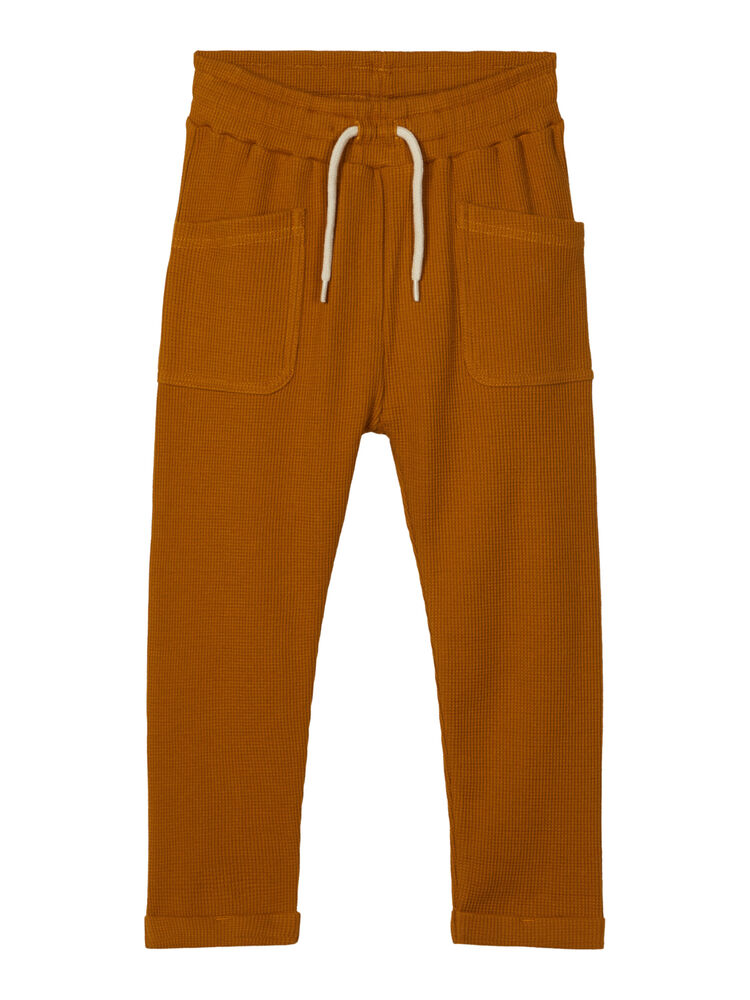 Image of Lil' Atelier Gabriel reg slim pant - CATHAY SPICE (9e8c3306-9e41-4581-8669-4025222ab092)